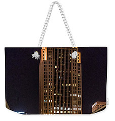 Weekender Tote Bag featuring the photograph 400 West Market by Randy Scherkenbach