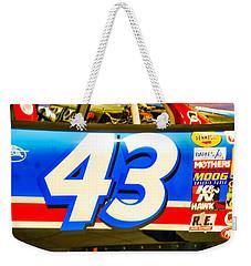 42 Race Car Weekender Tote Bag