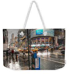 42nd Street Weekender Tote Bag by David Bearden