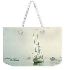 Weekender Tote Bag featuring the photograph 4373 by Peter Holme III