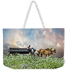 Weekender Tote Bag featuring the photograph 4376 by Peter Holme III