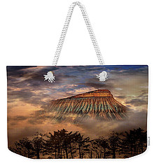Weekender Tote Bag featuring the photograph 4381 by Peter Holme III