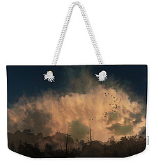 Weekender Tote Bag featuring the photograph 4382 by Peter Holme III