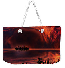 Weekender Tote Bag featuring the photograph 4385 by Peter Holme III