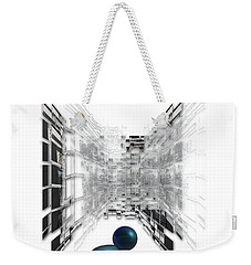 Weekender Tote Bag featuring the photograph 4387 by Peter Holme III