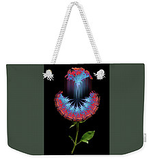 Weekender Tote Bag featuring the photograph 4389 by Peter Holme III