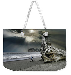 Weekender Tote Bag featuring the photograph 4392 by Peter Holme III