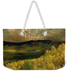 Weekender Tote Bag featuring the photograph 4394 by Peter Holme III