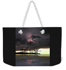 Weekender Tote Bag featuring the photograph 4396 by Peter Holme III