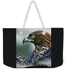 Weekender Tote Bag featuring the photograph 4397 by Peter Holme III