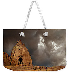 Weekender Tote Bag featuring the photograph 4398 by Peter Holme III