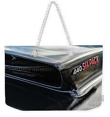 Weekender Tote Bag featuring the photograph 440 Sixpack by Brad Allen Fine Art
