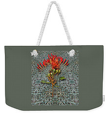 Weekender Tote Bag featuring the photograph 4400 by Peter Holme III