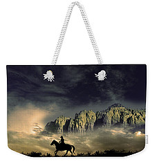Weekender Tote Bag featuring the photograph 4403 by Peter Holme III