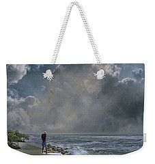 Weekender Tote Bag featuring the photograph 4405 by Peter Holme III