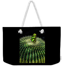 Weekender Tote Bag featuring the photograph 4409 by Peter Holme III