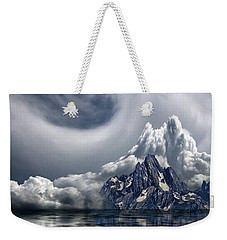 Weekender Tote Bag featuring the photograph 4412 by Peter Holme III