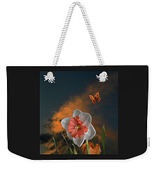 Weekender Tote Bag featuring the photograph 4413 by Peter Holme III