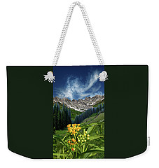 Weekender Tote Bag featuring the photograph 4415 by Peter Holme III