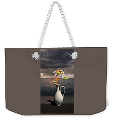 Weekender Tote Bag featuring the photograph 4416 by Peter Holme III