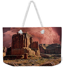Weekender Tote Bag featuring the photograph 4417 by Peter Holme III