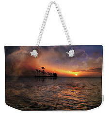 Weekender Tote Bag featuring the photograph 4419 by Peter Holme III