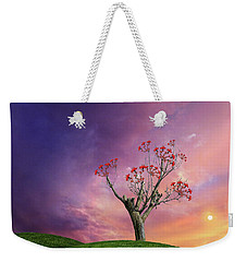 Weekender Tote Bag featuring the photograph 4451 by Peter Holme III