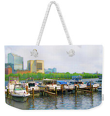 Weekender Tote Bag featuring the photograph 4455 by Peter Holme III