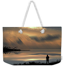 Weekender Tote Bag featuring the photograph 4459 by Peter Holme III