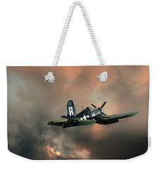 Weekender Tote Bag featuring the photograph 4462 by Peter Holme III