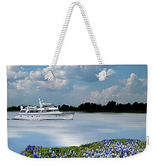 Weekender Tote Bag featuring the photograph 4464 by Peter Holme III
