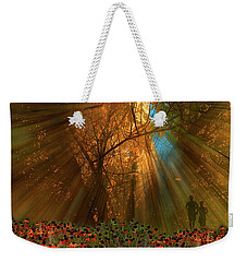 Weekender Tote Bag featuring the photograph 4478 by Peter Holme III