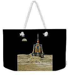 Weekender Tote Bag featuring the photograph 4481 by Peter Holme III