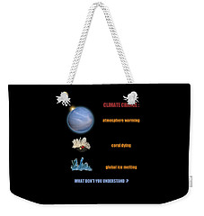Weekender Tote Bag featuring the photograph 4483 by Peter Holme III