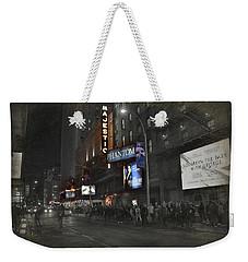 44th Street Nyc Weekender Tote Bag