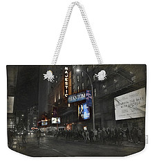 44th Street Nyc Weekender Tote Bag