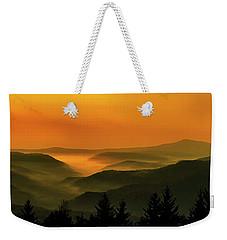 Allegheny Mountain Sunrise Weekender Tote Bag