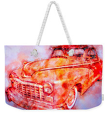 48 Dodge 3 Window Business Coupe Weekender Tote Bag
