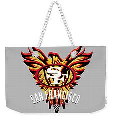 49er Phoenix  Weekender Tote Bag
