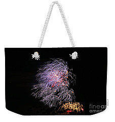 4th Of July - Bamboo Fireworks Weekender Tote Bag by Craig Wood