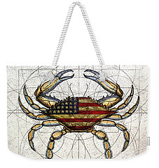 4th Of July Crab Weekender Tote Bag