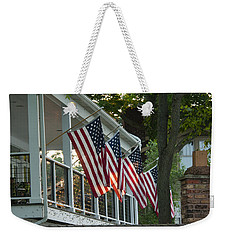 4th Of July Porch Weekender Tote Bag
