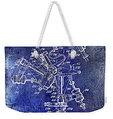 1950 Helicopter Patent Weekender Tote Bag