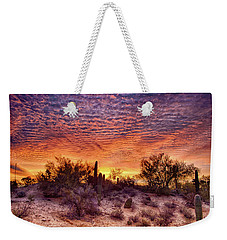 Arizona Sunrise Weekender Tote Bag