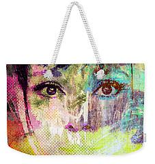 Audrey Hepburn Weekender Tote Bag by Svelby Art