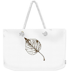 Autumn Day Weekender Tote Bag by Chastity Hoff