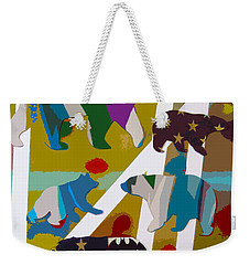 5 Bears Heading To Graceland Weekender Tote Bag