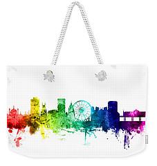 Brighton England Skyline Weekender Tote Bag