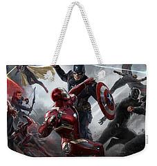 Captain America Civil War 2016 Weekender Tote Bag