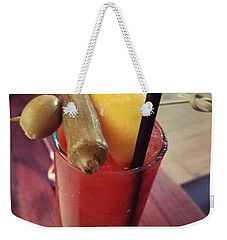 5 Church  St. Bloody Mary Weekender Tote Bag by Missty Wise